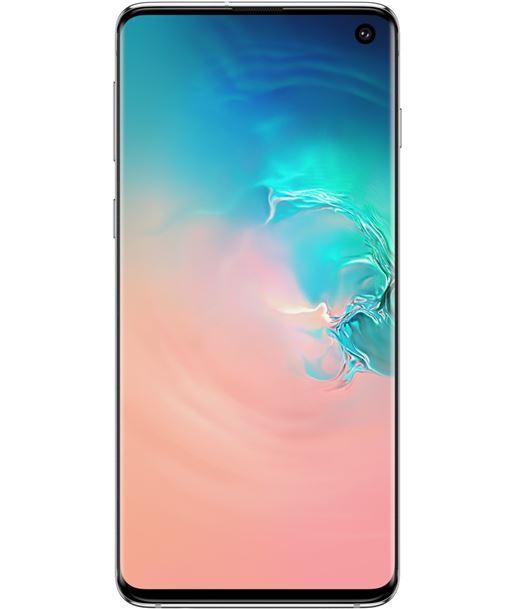 Smartphone m?vil Samsung galaxy s10 white - 6.1''/15.4cm - cam (12+16+12)mp/ G973 DS WHITE - SAM-SP G973 DS WHITE
