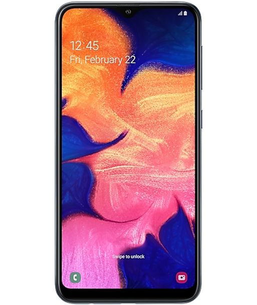 Smartphone m?vil Samsung galaxy a10 black - 6.2''/15.8cm hd+ cam 13/5mpx - SM-A105 BLACK - SAM-SP A105 BLACK