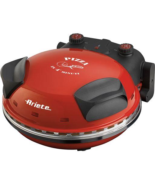 Mini horno para pizza Ariete 909 - 1200w - ø33cm - 5 niveles temperatura - - ARI-PAE-HORNO 909
