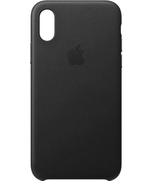 Funda Apple iphone xs leather case - negra - MRWM2ZM/A - APL-FUN MRWM2ZMA