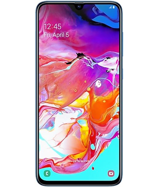 Smartphone m?vil Samsung galaxy a70 blue - 6.7''/17cm - cam (32+5+8)/32mp - A705 DS BLUE - SAM-SP A705 DS BLUE