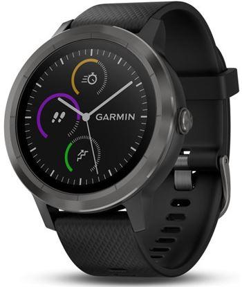 Reloj deportivo con gps Garmin vivoactive 3 negro con correa silicona - bt 010-01769-10