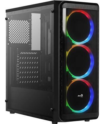 Caja semitorre Aerocool SI5200RGB - usb 3.0/2*usb 2.0 - 3*ventiladores rgb