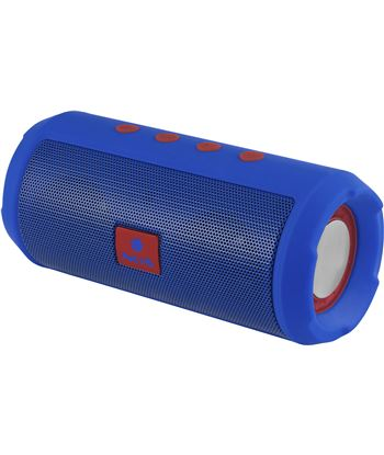 Altavoz bluetooth Ngs roller tumbler blue - bt 4.2 - 6w - radio fm - usb - ROLLERTUMBLERBL