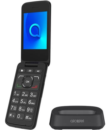 Alcatel 3026X PLATA MET álico móvil senior 3g 2.8'' tft bluetooth cámara con - +20504