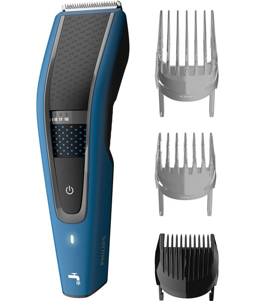 Philips HC5612/15 azul cortapelos lavable hairclipper series 5000 - +015299