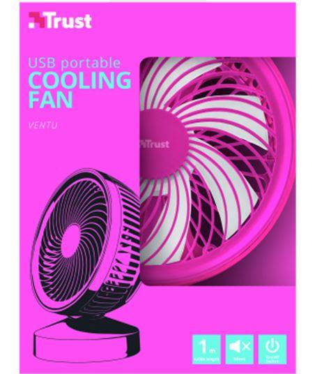 Ventilador refrigeración usb Trust summer rosa 22582 - 53718166_5435071559