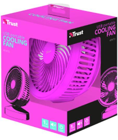 Ventilador refrigeración usb Trust summer rosa 22582 - 53718166_8856331432