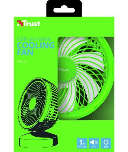 Ventilador refrigeración usb Trust summer verde 22581 - 53718144_4348252158