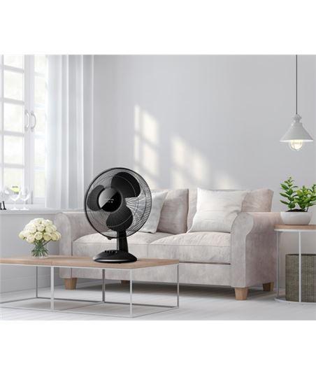 Ventilador sobremesa Taurus greco 16 elegance negro 944651 - 70304399_6543830058