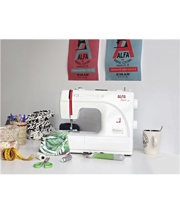 Maquina coser Alfa BASIC720 . - 63146399_2545471169