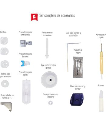 Maquina coser Alfa BASIC720 . - 63146399_0907981334