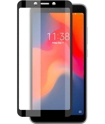 Xiaomi B9055SC07N protector ksix vidrio temp. redmi 6/6a negro (1 ud) - CONB9055SC07N