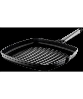 Castey grill induction con mango inoxidable 27 x 27 cm 6ig27