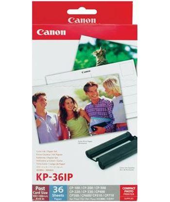 Canon consumible kp-36ip tarjeta postal 36 hojas impresora selphy can7737a001ah