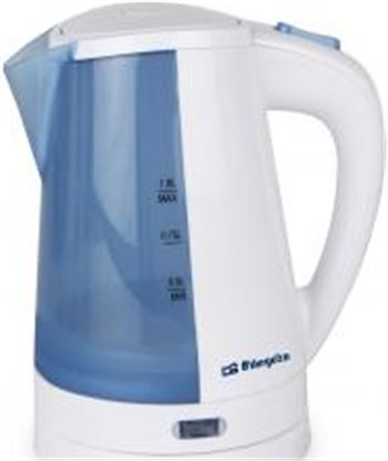 Orbegozo calienta líquidos 1 litros. base giratoria 360º re kt5010