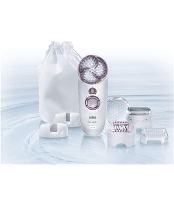 Depiladora Braun 7951 skin spa, wt&dry, 40 pinzas 7951SKINSPA