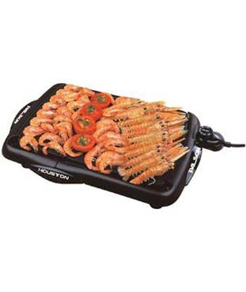 Plancha cocina Palson 30454,2000w, 40.5x27cm, neg,
