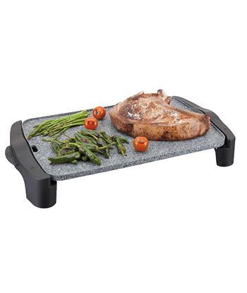 Plancha cocina Jata GR558, 2500w, 46x28, antiadher - GR558
