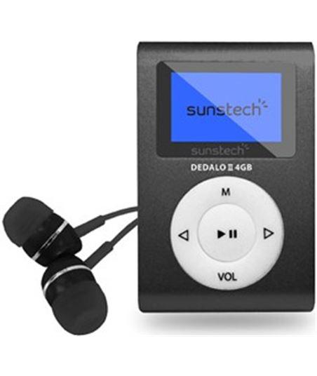 Reproductor mp3 Sunstech DEDALOIII4GBBK - 8429015016165