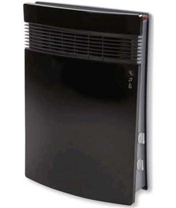 S&p TL40 calefactor vertical tl-40tl-401000/1800w negro / g 5226833500 - 8413893745149