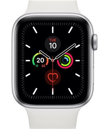 Apple watch series 5 gps cell 44mm caja aluminio plata con correa blanca d MWWC2TY/A