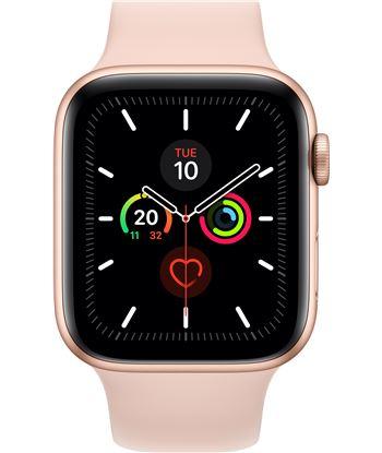 Apple watch series 5 gps cell 44mm caja aluminio oro con correa rosa arena MWWD2TY/A