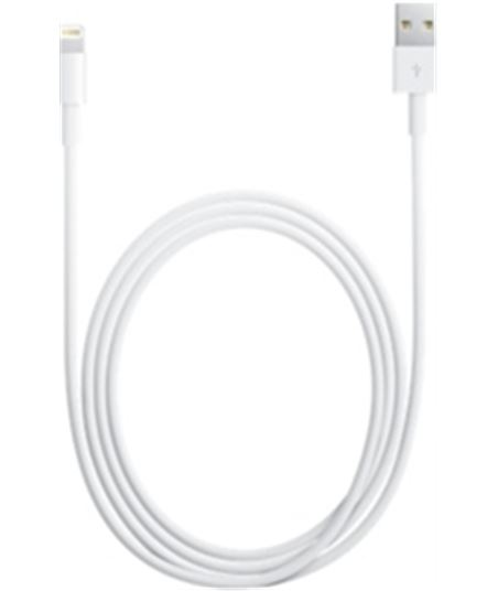 Contact cable original lightning a usb iphone 5 apple o12md818 - APMD818ZM
