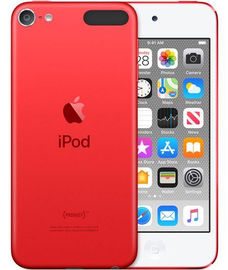 Apple ipod touch 32gb rojo product red - mvhx2py/a - MVHX2PYA