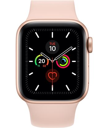 Apple watch series 5 gps cell 40mm caja aluminio oro con correa rosa arena MWX22TY/A