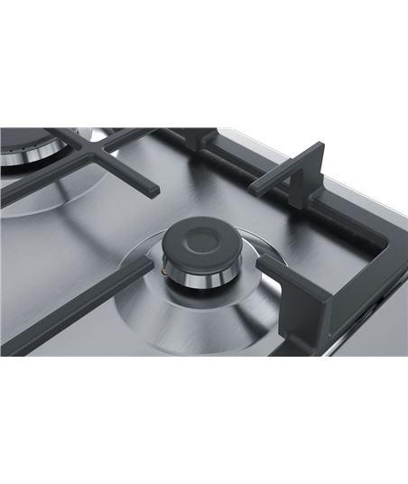 Bosch, pgc6b5b90, encimera, gas, encastrable, 60 cm, 3 quemadores, acero in - 70310815_0701708483