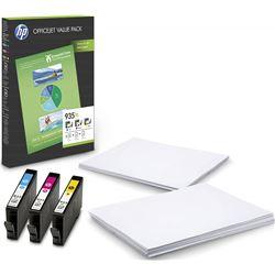 Pack Hp 935xl office - 3 cartuchos tinta (1x cian - 1x magenta - 1x amarill F6U78AE
