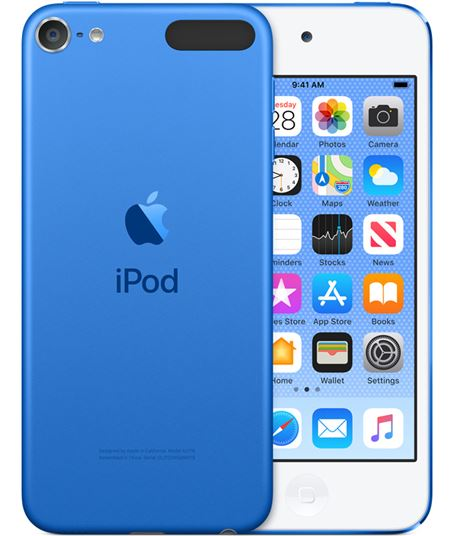 Apple ipod touch 32gb azul - mvhu2py/a - MVHU2PYA
