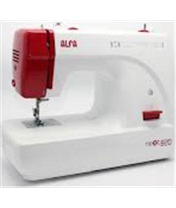 Alfa maquina coser next82 zig-zag doméstica. brazo libr next820