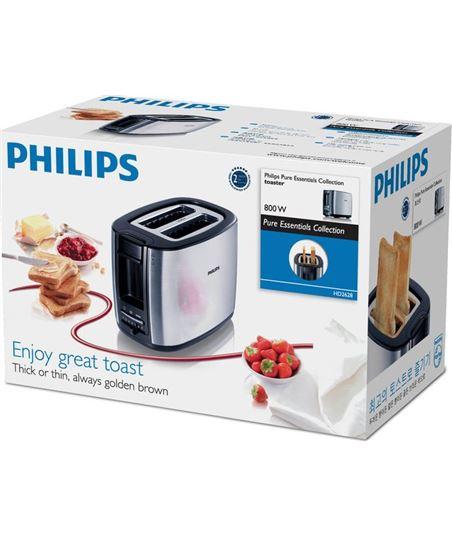 Tostador de pan Philips hd2628 black and metal - 950w - 7 posiciones tostad HD2628/20 - 1996677_8412153863