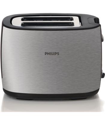 Tostador de pan Philips hd2628 black and metal - 950w - 7 posiciones tostad HD2628/20