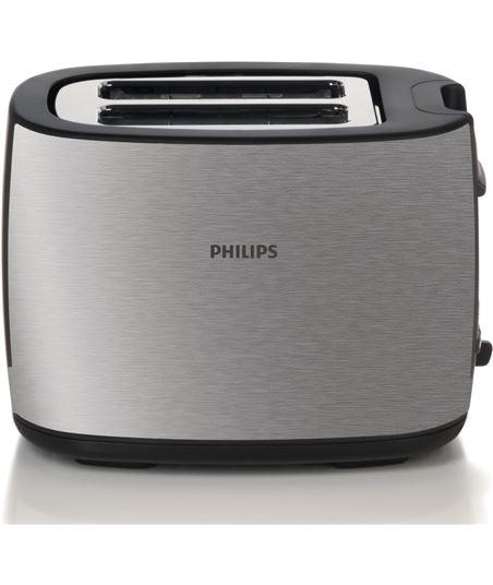 Tostador de pan Philips hd2628 black and metal - 950w - 7 posiciones tostad HD2628/20 - HD262820