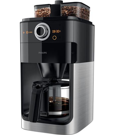 Cafetera Philips grind & brew HD7769/00 - 1000w - depósito 1.2l - 2*depósit - HD776900