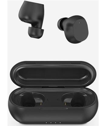 Auriculares bluetooth Spc zion pure black - bt 5.0 - estuche de carga - alc 4610N - 4610N