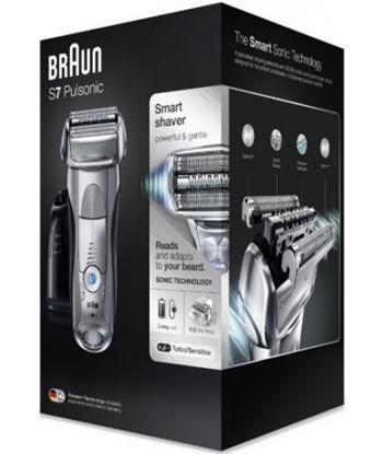 Afeitadora Braun series 7-7790cc pulsonic wet and dry silver - 5 modos de a 166849