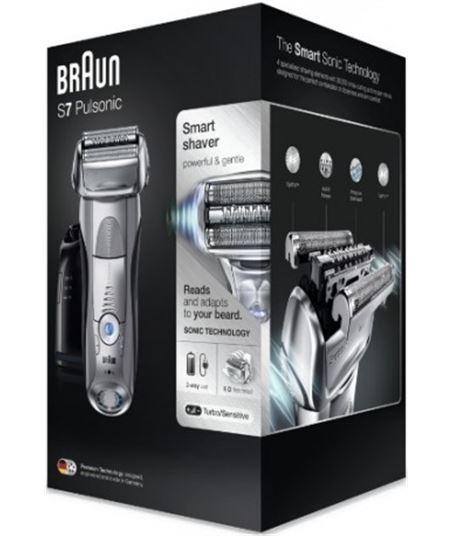 Afeitadora Braun series 7-7790cc pulsonic wet and dry silver - 5 modos de a 166849 - 166849