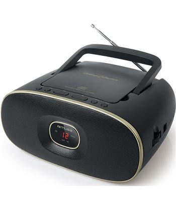 Muse md-202 vt negro radio cd portátil cd-rw fm/am con altavoz integrado MD202VT