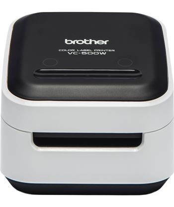 Impresora de etiquetas color Brother wifi vc-500w - tecnología zero ink - 8 VC500W - BRO-TERM VC-500W