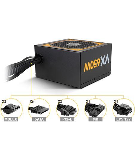 Nuevoelectro.com fuente alimentacion nox urano vx 650w bronze - ventilador 12cm - pfc activo nxurvx650bz - 38276314_8760826493