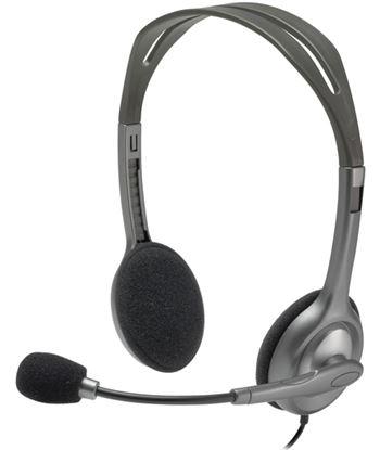 Auriculares diadema con micrófono Logitech h111 - cómodos y reversibles - c 981-000593