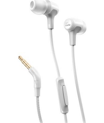 Auriculares intrauditivos jbl e15 white - dRivers 8.6mm - 16ohm - cable 122 JBLE15WHT