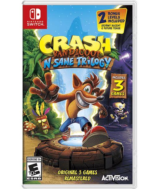 Juego para consola Nintendo switch crash bandicoot n. sane trilogy CBNST - NIN-NS-J CBNST