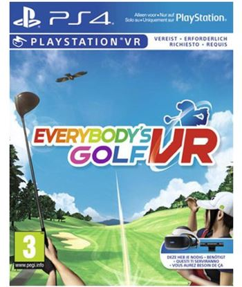 Juego para consola Sony ps4 everybodys golf - requiere playstation vr 9921806