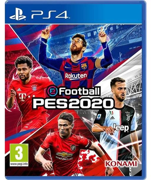 Juego para consola Sony ps4 efootball PES 2020 Consolas - SONY-PS4-J PES 2020