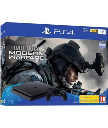 Play consola sony ps4 1tb + call of duty: mw 2019 9325406